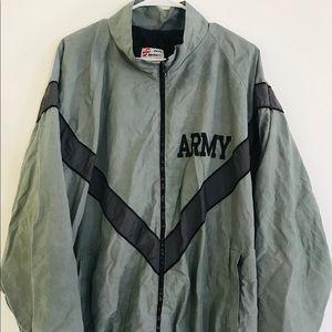 Army wind breaker jacket